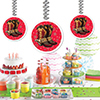 WESTERN BOOTS DANGLER PARTY SUPPLIES
