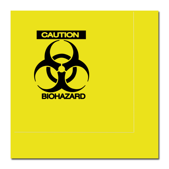 ZOMBIE BIOHAZARD BEVERAGE NAPKIN PARTY SUPPLIES