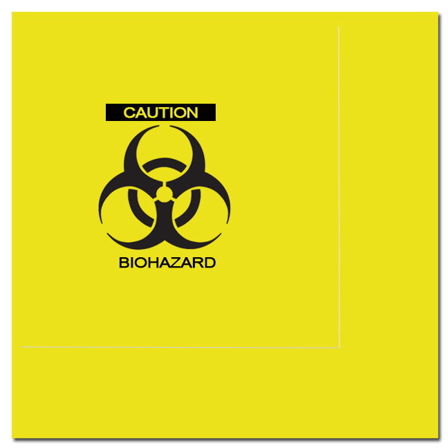 ZOMBIE BIOHAZARD LUNCH NAPKIN PARTY SUPPLIES