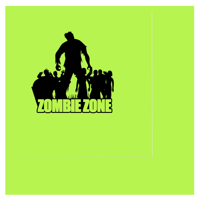 ZOMBIE ZONE LUNCH NAPKIN PARTY SUPPLIES