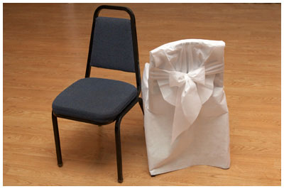 Chair Covers Disposable Party Supplies Chair Covers With Bow Banquet Chair