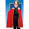 CHILD'S KING/QUEEN RED ROBE W/CROWN PARTY SUPPLIES