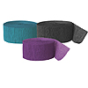 BLACK TEAL PURPLE (SOLID COLOR) PARTY SUPPLIES