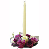 BRIDAL ROSEBUD CANDLE RING ROSE (24/CS) PARTY SUPPLIES