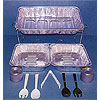 11 PIECE PARTY SERVING KIT PARTY SUPPLIES