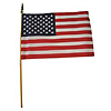 U.S. SOFT COTTON FLAG 12X18 IN. (24/CS) PARTY SUPPLIES