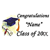 CUSTOMIZED GRADUATION BANNERS
