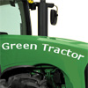PERSONALIZED GREEN TRACTOR BANNER PARTY SUPPLIES