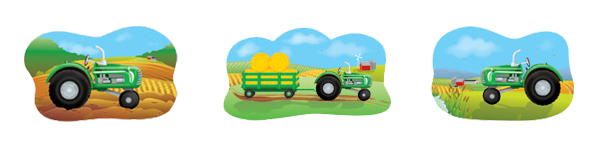 GREEN TRACTOR PARTY SUPPLIES