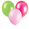 HOT PINK LIME GREEN & PINK BALLOONS PARTY SUPPLIES