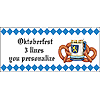 PERSONALIZED OKTOBERFEST BANNER PARTY SUPPLIES