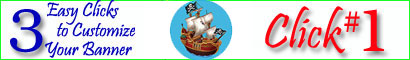 Personalized Pirate Banners and Party Supplies Click Here