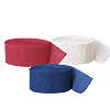 RED WHITE BLUE CREPE COMBO (SOLID) PARTY SUPPLIES