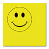 SMILEY FACE LUNCH NAPKIN 16/PKG PARTY SUPPLIES