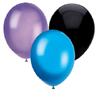 BLACK PURPLE & BLUE BALLOON COMBO PARTY SUPPLIES