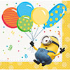 DESPICABLE ME MINION MADE BEVERAGE NAP PARTY SUPPLIES