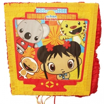 Click for larger picture of DISCONTINUED NI HAO KAI-LAN PINATA PARTY SUPPLIES