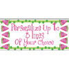 PERSONALIZED WATERMELON BANNER PARTY SUPPLIES