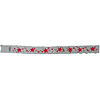 NUMBER ID WRISTBAND RED STARS -1200/CS PARTY SUPPLIES